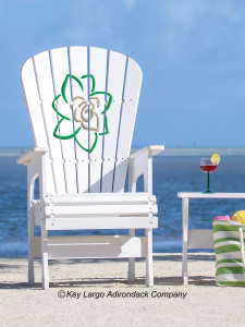 High Top Patio Chair - Gardenia