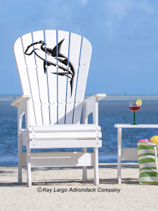 High Top Patio Chair - Hammerhead Shark