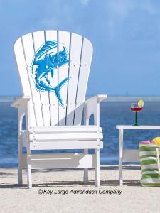 High Top Patio Chair - Mahi Mahi
