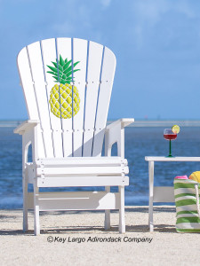 High Top Patio Chair - Pineapple