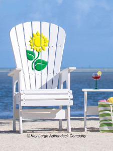 High Top Patio Chair - Sunflower