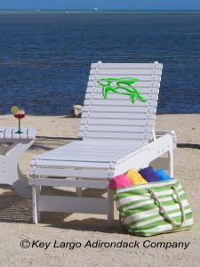 Outdoor Patio Chaise Lounge - Turtle - JM Design