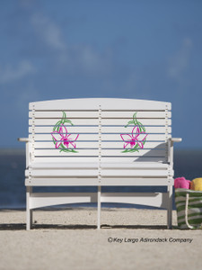 Patio Bench - Orchid