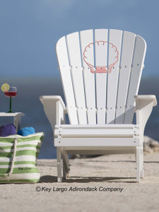 Clam Shell Adirondack Chair