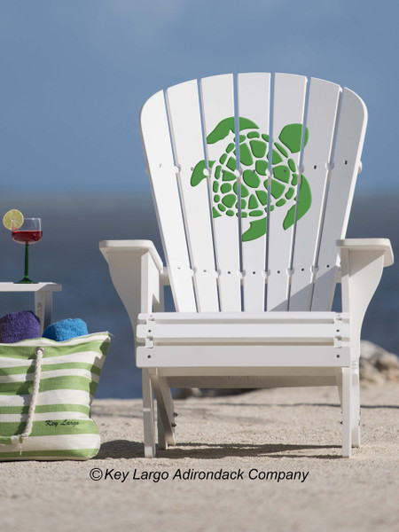 American Made - 25 Year Warranty & Turtle Adirondack Chair - GG Design - Key Largo Adirondack Company