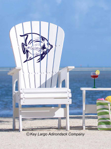 High Top Patio Chair - Angelfish