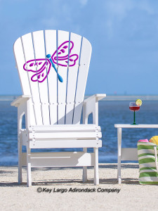 High Top Patio Chair - Dragonfly