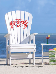 High Top Patio Chair - Crab