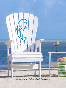 High Top Patio Chair - Happy Porpoise