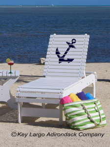 Outdoor Patio Chaise Lounge - Anchor