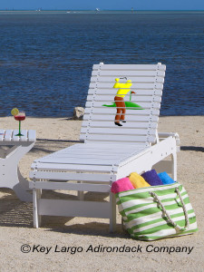 Outdoor Patio Chaise Lounge - Golfer