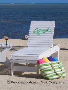 Outdoor Patio Chaise Lounge - Mahi Outline - JM Design