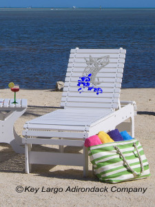 Outdoor Patio Chaise Lounge - Tarpon Splash