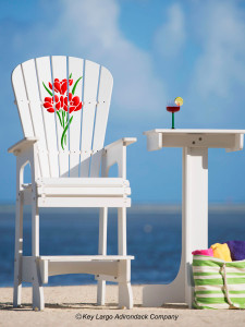 Outdoor Patio Lifeguard Chair - Bouquet