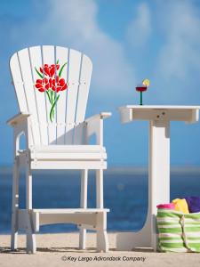 Outdoor Patio Lifeguard Chair - Bouquet