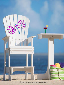 Outdoor Patio Lifeguard Chair - Dragonfly