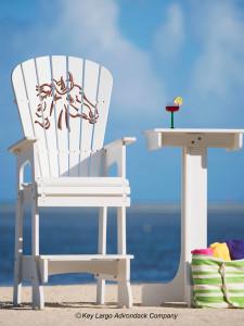 Outdoor Patio Lifeguard Chair - Happy Horse