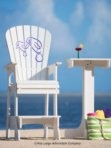 Outdoor Patio Lifeguard Chair - Manatee
