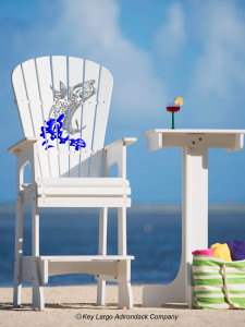 Outdoor Patio Lifeguard Chair - Tarpon Splash