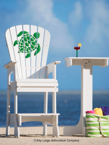 Outdoor Patio Lifeguard Chair - Turtle - GG Design