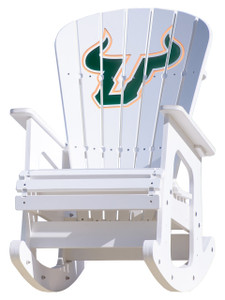 University of South Florida Bulls - Rocking Chair