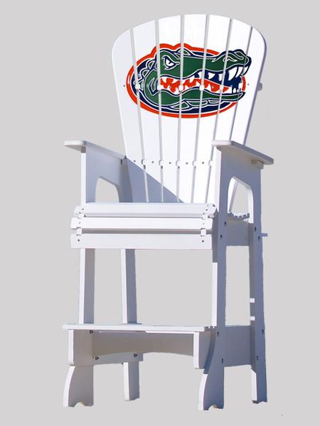 Outdoor Patio Lifeguard Chair   University Of Florida Gators   Key Largo  Adirondack Company