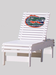Outdoor Patio Chaise Lounge   University Of Florida Gators