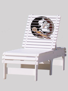 Outdoor Patio Chaise Lounge - Florida State University Seminoles