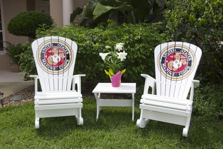 Marine Corps Rocking chairs - Rock Harbor Set