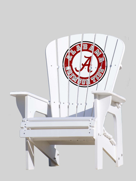 "Alabama ""Roll Tide"" Adirondack Chair"
