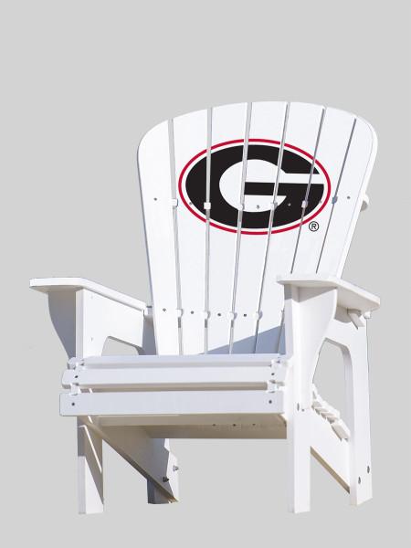 "University of Georgia Bulldogs ""G"" Adirondack Chair"