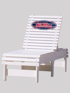 Ole Miss Rebels Chaise Lounge