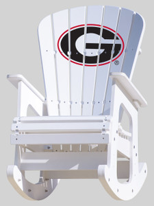 Georgia Bulldogs Rocking Chair