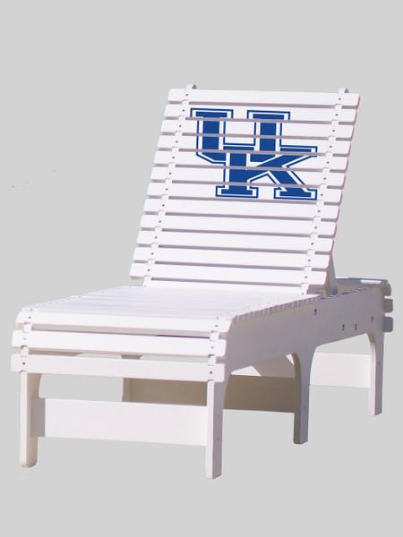 University of Kentucky Chaise Lounge