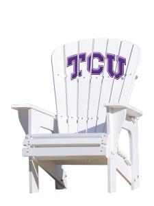 Texas Christian University Horned Frogs - Adirondack Chair