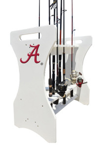 Alabama Crimson Tide Fishing Rod Holder