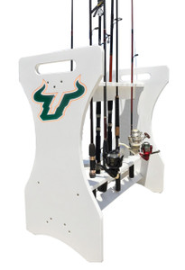 South Florida University Bulls - Fishing Rod Holder