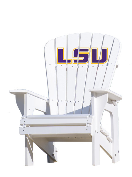 LSU Tigers Adirondack Chair