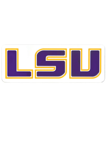 LSU Tigers Wall Plaque