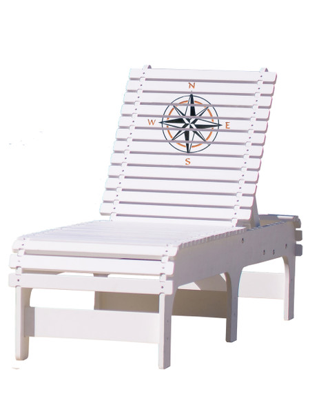 Compass Rose Chaise Lounge