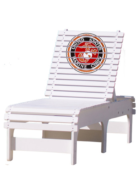 United States Marine Corps Chaise Lounge