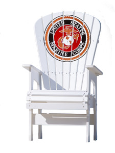 United States Marine Corps - High Top Chair