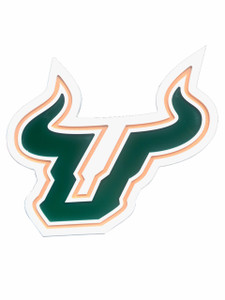 South Florida University - Bulls Wall Plaque