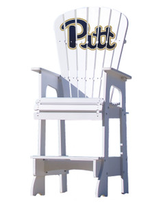 University of Pittsburg (PITT) Panthers Lifeguard Style Chair
