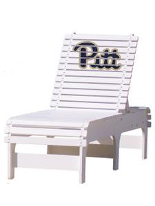 University of Pittsburg (PITT) Panthers Chaise Lounge