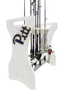 University of Pittsburg - PITT - Fishing Rod Holder
