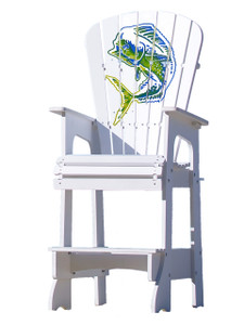 Outdoor Patio Lifeguard Chair - Multicolor Mahi