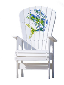 Multicolor Mahi - High Top Chair