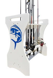 Fishing Rod Holder - Mahi-Mahi