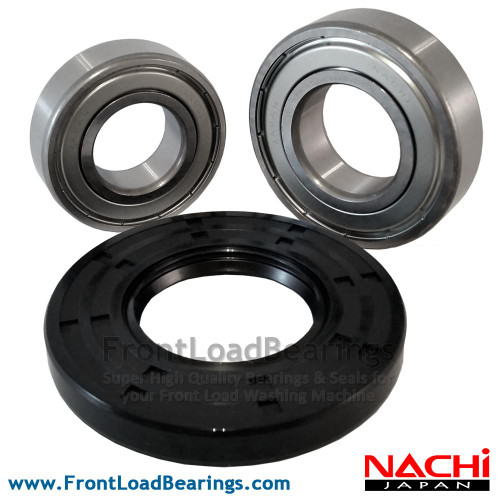 Whirlpool Washer Tub Bearing and Seal Kit W10261338 - Front View